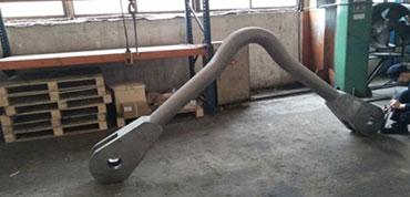 Forging, steel forging, material handling equipment, open die forging